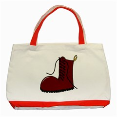 Boot Classic Tote Bag (Red)