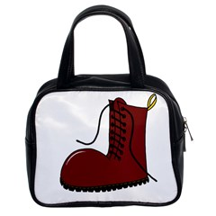 Boot Classic Handbags (2 Sides)