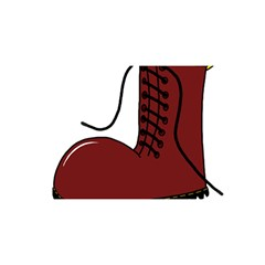 Boot YOU ARE INVITED 3D Greeting Card (8x4)