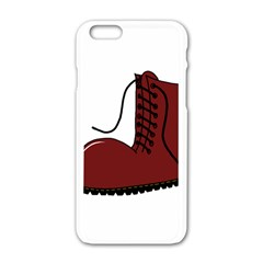Boot Apple iPhone 6/6S White Enamel Case