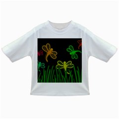 Neon dragonflies Infant/Toddler T-Shirts