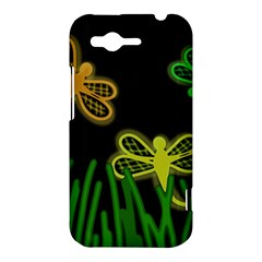 Neon dragonflies HTC Rhyme