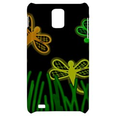 Neon dragonflies Samsung Infuse 4G Hardshell Case