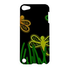 Neon dragonflies Apple iPod Touch 5 Hardshell Case