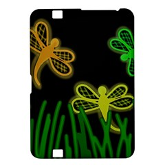 Neon dragonflies Kindle Fire HD 8.9