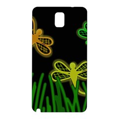 Neon dragonflies Samsung Galaxy Note 3 N9005 Hardshell Back Case