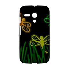 Neon dragonflies Motorola Moto G