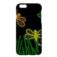 Neon dragonflies Apple iPhone 6 Plus/6S Plus Hardshell Case