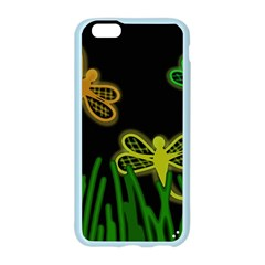 Neon dragonflies Apple Seamless iPhone 6/6S Case (Color)