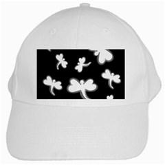 White dragonflies White Cap