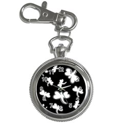 White dragonflies Key Chain Watches