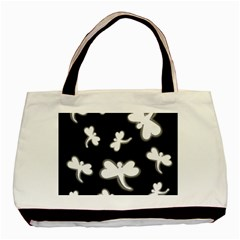 White dragonflies Basic Tote Bag (Two Sides)