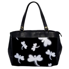 White dragonflies Office Handbags