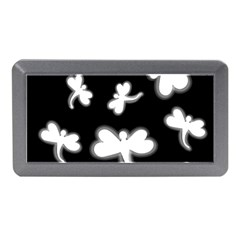 White dragonflies Memory Card Reader (Mini)