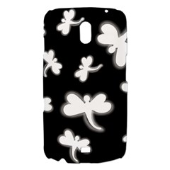 White dragonflies Samsung Galaxy Nexus i9250 Hardshell Case