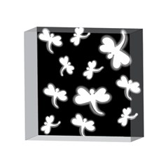 White dragonflies 4 x 4  Acrylic Photo Blocks