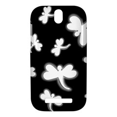 White dragonflies HTC One SV Hardshell Case