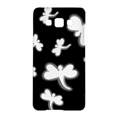 White dragonflies Samsung Galaxy A5 Hardshell Case