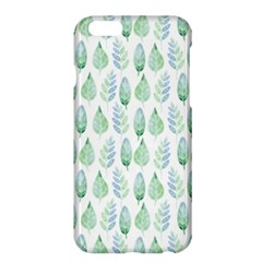 Green Watercolour Leaves Pattern Apple Iphone 6 Plus/6s Plus Hardshell Case