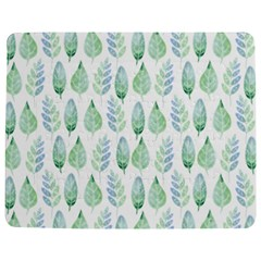 Green Watercolour Leaves Pattern Jigsaw Puzzle Photo Stand (rectangular)