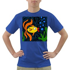Yellow fish Dark T-Shirt