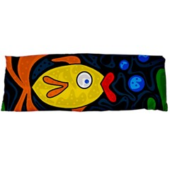 Yellow fish Body Pillow Case (Dakimakura)