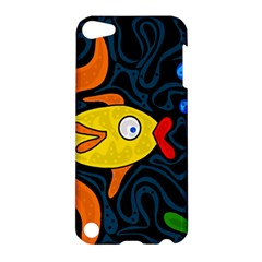 Yellow fish Apple iPod Touch 5 Hardshell Case