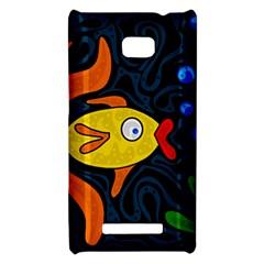 Yellow fish HTC 8X