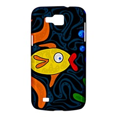 Yellow fish Samsung Galaxy Premier I9260 Hardshell Case