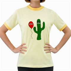 Impossible love  Women s Fitted Ringer T-Shirts