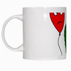 Impossible love  White Mugs