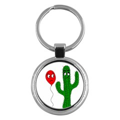 Impossible love  Key Chains (Round)