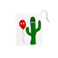 Impossible love  Drawstring Pouches (Small)