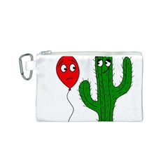 Impossible love  Canvas Cosmetic Bag (S)