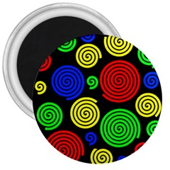 Colorful hypnoses 3  Magnets