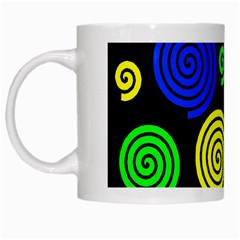Colorful hypnoses White Mugs