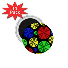 Colorful hypnoses 1.75  Magnets (10 pack)