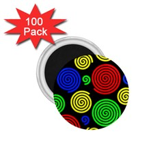 Colorful hypnoses 1.75  Magnets (100 pack)