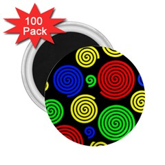 Colorful hypnoses 2.25  Magnets (100 pack)