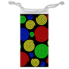 Colorful hypnoses Jewelry Bags