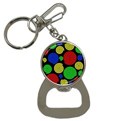 Colorful hypnoses Bottle Opener Key Chains
