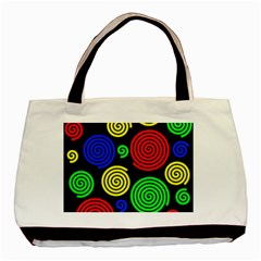 Colorful hypnoses Basic Tote Bag