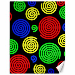 Colorful hypnoses Canvas 12  x 16