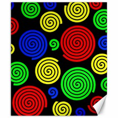 Colorful hypnoses Canvas 20  x 24