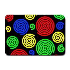 Colorful hypnoses Plate Mats
