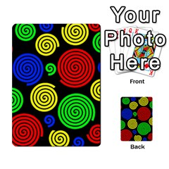 Colorful hypnoses Multi-purpose Cards (Rectangle)