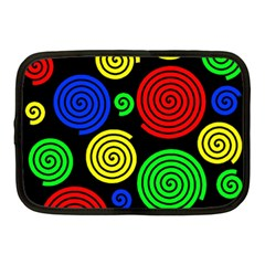 Colorful hypnoses Netbook Case (Medium)