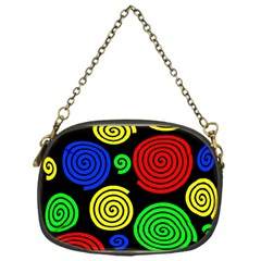 Colorful hypnoses Chain Purses (One Side)