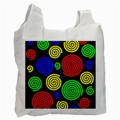 Colorful hypnoses Recycle Bag (Two Side)