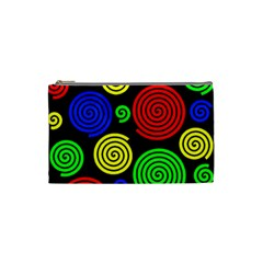 Colorful hypnoses Cosmetic Bag (Small)